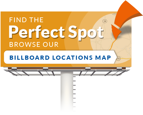 Find all the billboard locations of Trone Outdoors